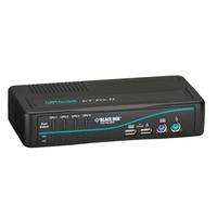 Black Box ServSwitch DT Pro II KVM switch - Zwart