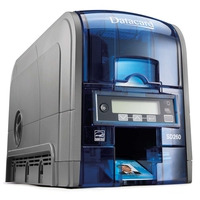 DataCard SD260 Imprimante de carte - Bleu, Argent