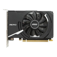 MSI GeForce GT 1030 AERO ITX 2G OC Carte graphique - Noir,Blanc