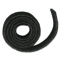 C2G 7.6m Hook and Loop Cable Wrap Kabelklem - Zwart