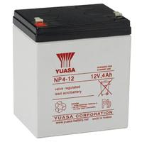 Yuasa NP4-12 UPS batterij - Wit