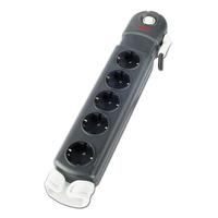 APC Essential SurgeArrest 5 (1 PLC Compatible) outlets 230V Germany Spanningsbeschermer - Zwart