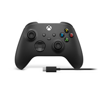 Microsoft Xbox Wireless Controller + USB-C Cable Game controller - Zwart