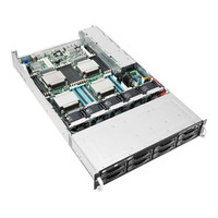 ASUS RS920-E7/RS8 Barebone server - Zwart,Metallic