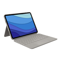 Logitech Combo Touch for iPad Pro 11-inch (1st, 2nd, and 3rd generation) - QWERTY - Sable
