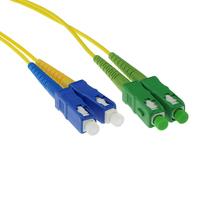 ACT SC/APC8 - SC/PC 9/125um OS1 DUPLEX (FOSCCD-*M-A-1M) 1m Câble de fibre optique