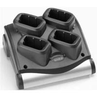 Zebra 4 Slot Battery Charger Kit, US Chargeur de batterie - Noir