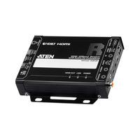 Aten HDMI HDBaseT-ontvanger met Audio De-Embedding (4K bij 100 m) (HDBaseT Class A) AV extenders - Zwart