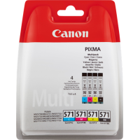 Canon CLI-571 Multipack Cartouche d'encre - Black, Cyan, Magenta, Jaune
