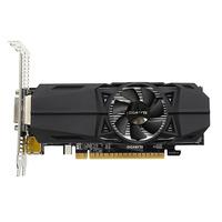 Gigabyte GeForce GTX 1050 OC Low Profile 2G Videokaart - Zwart