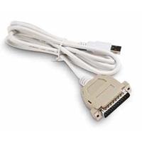 Intermec USB to Parallel Adapter Printerkabel - Wit