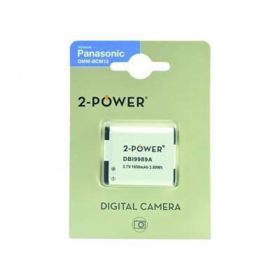 2-Power DBI9989A Batterijen voor camera's/camcorders