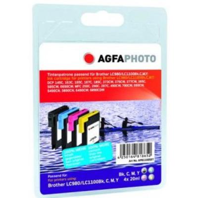 AgfaPhoto APB1100SETD Cartouches d'encre