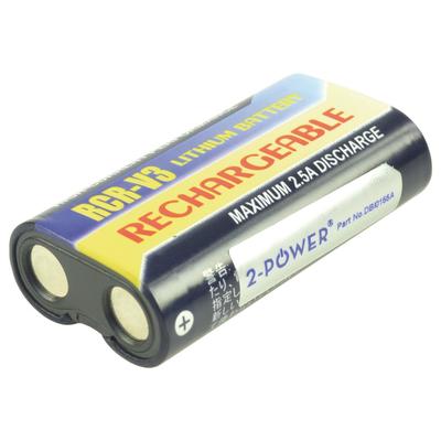 2-Power DBI0155A Batterijen voor camera's/camcorders