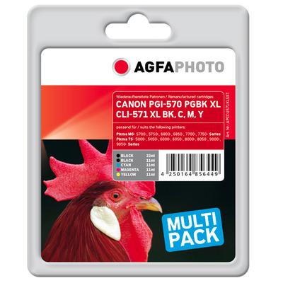 AgfaPhoto APCCLI571XLSET Inktcartridges