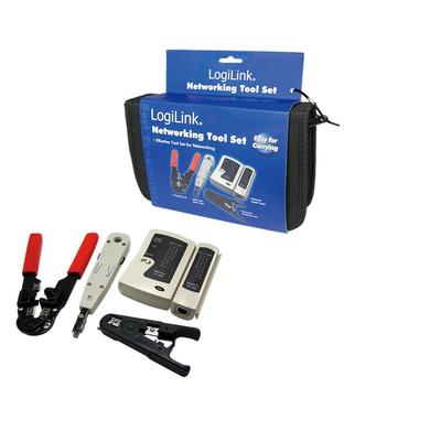 LogiLink WZ0012 Sets met kabelbewerkingsgereedschap