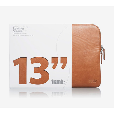 Trunk TR-LEA13-BRW laptoptassen