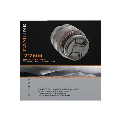CamLink CL-LC77 Capuchons d'objectifs