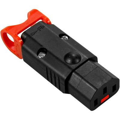 IEC LOCK PA130100BK Stopcontactkoppelingen