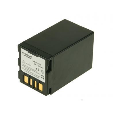 2-Power VBI9658A Batteries de caméra/caméscope