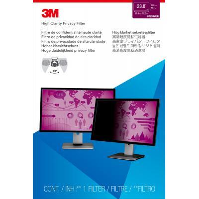 3M HC238W9B Filtres anti-reflets pour écran et filtres de confidentialité