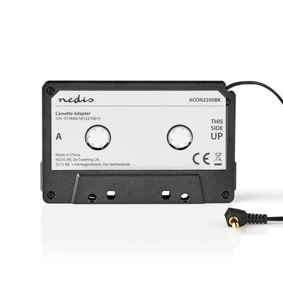 Nedis ACON2200BK Audiocassetteadapters