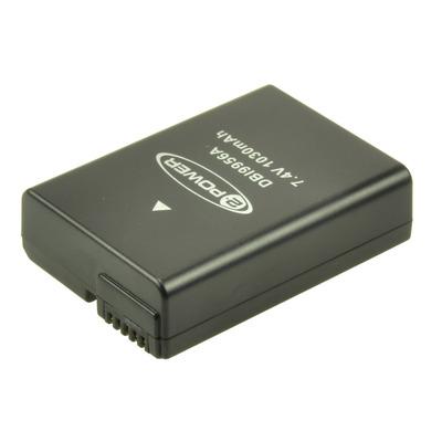 2-Power DBI9956A Batterijen voor camera's/camcorders