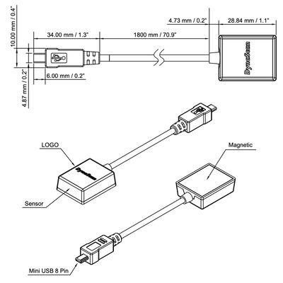 DynaScan ESK302 Accessoires voor de bevestiging van informatieschermen