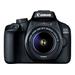 Canon EOS 4000D + EF-S 18-55mm III Caméra digitale - Noir