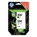 HP Cartouches jet d'encre HP°300 pack de 2 noir/trois couleurs authentiques Cartouche d'encre - .....