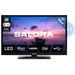 """Salora 6500 series Een compacte 24"""" (61CM) HD LED televisie met ingebouwde DVD speler Led-tv - Zwart"""