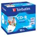 Verbatim CD-R AZO Wide Inkjet Printable CD