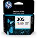 HP 305 originele drie-kleuren Inktcartridge - Cyaan,Magenta,Geel
